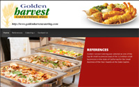 Golden Harvest Catering (DHTML/Graphic Project)