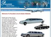 Paradise Limo & Sedan (DHTML Project)